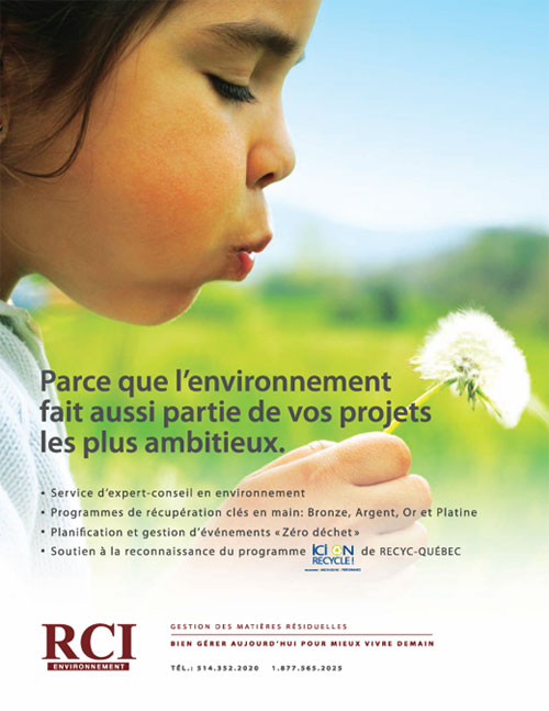 Rci environnement residual waste management for Revue marketing